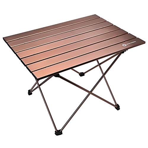 Erago Portable Folding Premium Camping Table,Lightweight Backpack, Appropriate for Dining Cooking, Hiking, Camping, Picnic,Beach, Outdoor