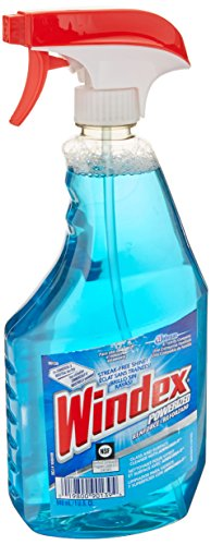 Powerized Formula Glass Cleaner with Liquid Trigger Spray Bottle 946 ml