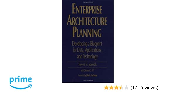 Enterprise architecture planning developing a blueprint for data enterprise architecture planning developing a blueprint for data applications and technology 9780471599852 computer science books amazon malvernweather Gallery