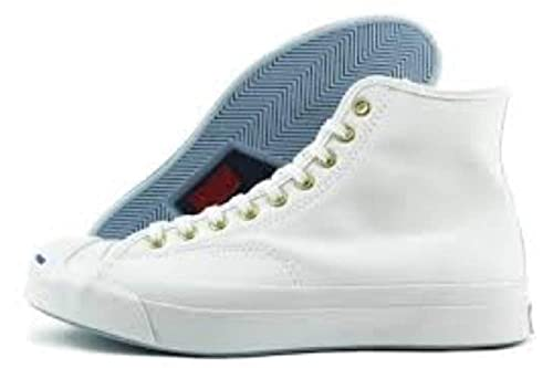 16b37d292f0800 Converse Jack Purcell Signature Hi Top Sneakers White 152668C UK 8 EU 42.5