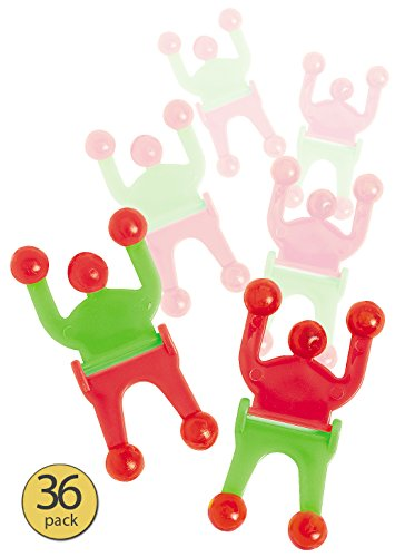Set of 36 - Wall Walker - Wall Crawler - Wall Tumbler - Wall Climber - Sticky Toy Crawler Men - Wholesale Bulk -