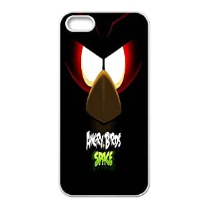 Angry Birds iPhone 5 5s Cell Phone Case White Personalized Phone Case FUH304660