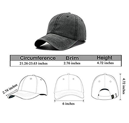 Splash Brothers Customized Unisex Camping Hair Don t Care Vintage Adjustable  Baseball Cap Denim Dad 33b9286e6e28