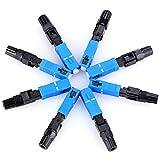 10 pcs SC -UPC Optic Fiber Quick Connector Fast