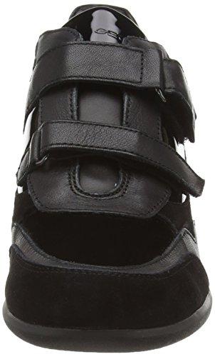 Geox Donna Persefone, Sneaker Basse Donna Schwarz (Blackc9997)
