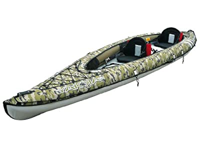 Inflatable Tandem Fishing Kayak (Sit-On-Top) Picture