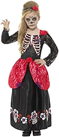 Smiffys Disfraz de Catrina día de los Muertos para niña: Amazon.es ...