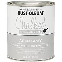 RUST-OLEUM 285143 Chalked Paint, 30 oz, Grey by Rust-Oleum