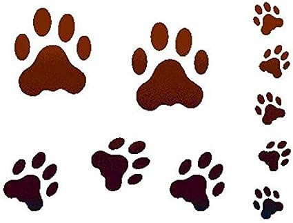 Stencil D 20 x 15 cm Huella gato – Stamperia ksd01: Amazon.es: Hogar
