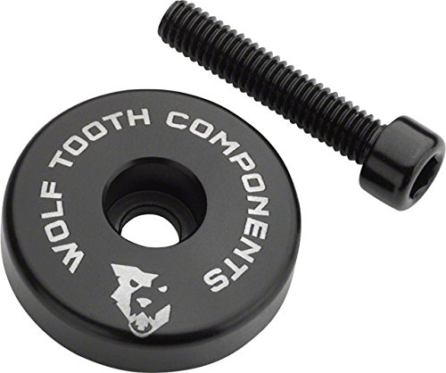 Wolf Tooth Components Ultralight Stem Cap with Integrated 5mm Spacer