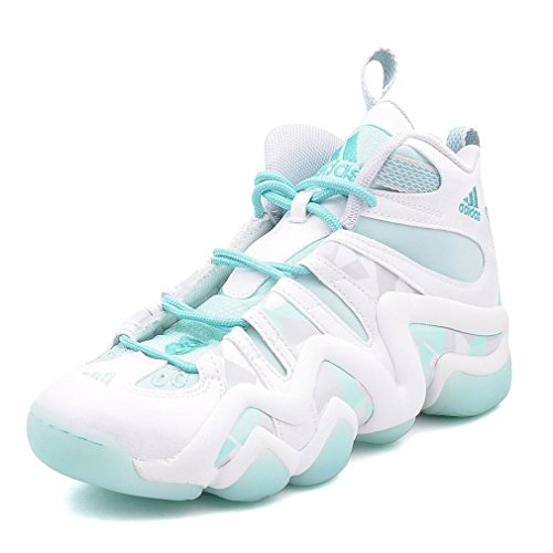 Adidas Basketball Trainings Crazy 8 Cwhite/fromin/clgrey, Größe Adidas:12.5