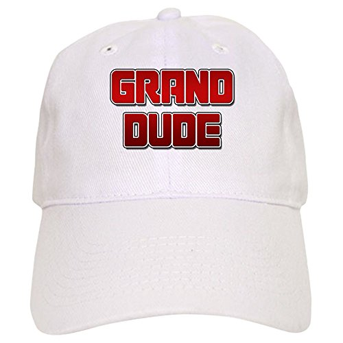 Cap Dude Baseball Vintage (CafePress - Grand Dude Cap - Baseball Cap with Adjustable Closure, Unique Printed Baseball Hat)