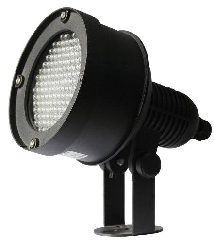 [Cop Security 15-IL07 DC12V/AC 24V Hi-Impact Extreme Long Range Infrared Illuminator (Black)] (Black Infrared Range)