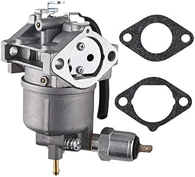 HONGYAN Vergaser Carb fit for John Deere Kawasaki Mikuni AM128355 LX188 LX279 LX289 Dauerhaft Color : Silver