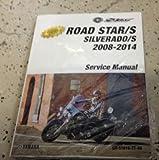 2008 2009 2010 2011 Yamaha Road Star Roadstar/S Silverado/S Service Shop Manual