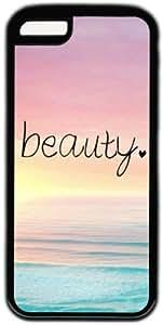 Beach Quote Beauty Theme Iphone 5C Case PC Black