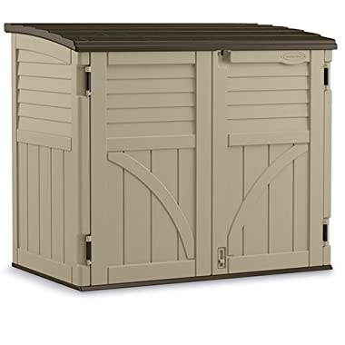 Suncast BMS3400 34 cu. ft. Horizontal Shed