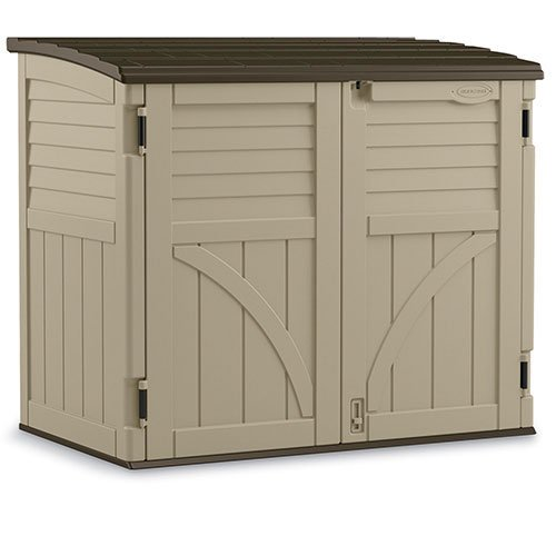 Suncast BMS3400 34 cu. ft. Horizontal Shed by Suncast