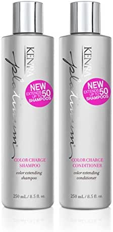 Shampoo & Conditioner: Kenra Platinum Color Charge