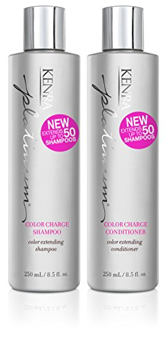 - Kenra Platinum Color Charge Shampoo and Conditioner Set, 8.5-Ounce