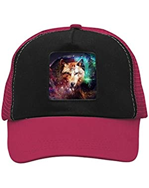 Unisex Galaxy Fox Adjustable Classic Hiphop Hat Baseball Cap Snapback Dad Hat
