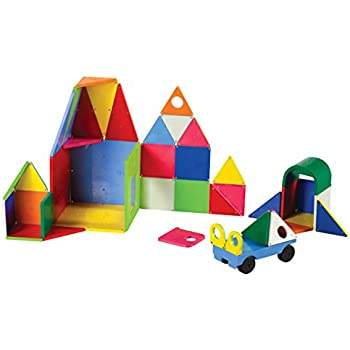 Magna-Tiles 02148 Solid Colors 48 pc DX set Toy