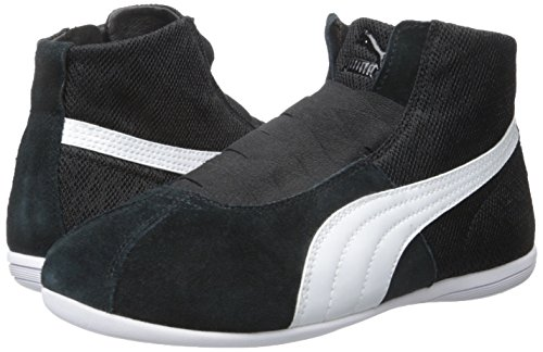 PUMA Women's Eskiva Mid Textured Cross-Trainer Shoe, Black, 7 M US by PUMA (Image #6)