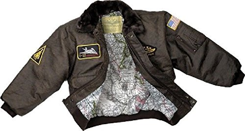 Brown WWII Aviator Flight Jacket - Jacket Flight Camouflage Kids