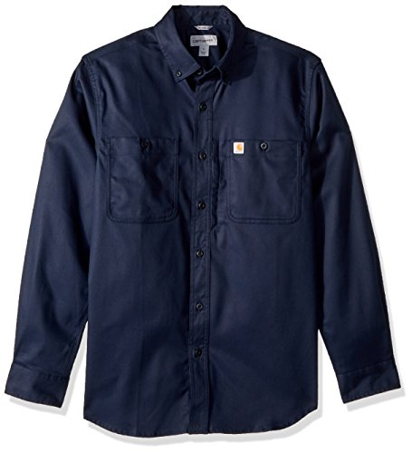 Navy Men sleeve Carhartt Shirt Rugged Longsleeve Long Prof H70xwqTA