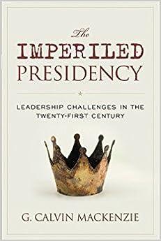 Book IMPERILED PRESIDENCY:PRESIDENTPB