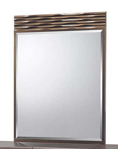 Used, Global Furniture North(138)-MR Mirror, Zebra Wood with for sale  Delivered anywhere in USA