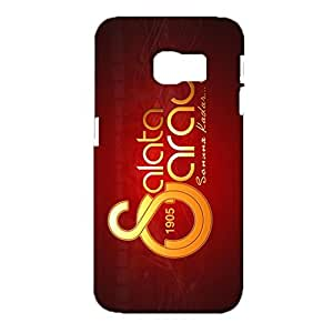 3d Galatasaray Logo Phone Case, Primera Division De Liga Simple Classic Style FC Galatasaray Spor Kulubu Logo Cover Case 3D Galatasaray 1905 Logo Design for Samsung Galaxy S6 Edge
