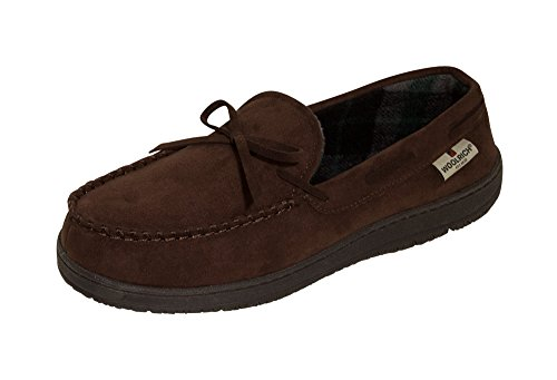 (Woolrich Potter County Slippers - Men's - Wood, 11)