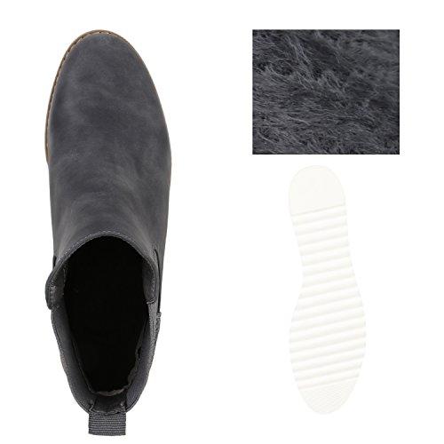 Japado - Botas Chelsea Mujer gris