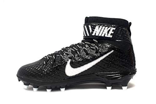 Nike Mens Lunarbeast Elite D CF Football Cleats 15 Black/White