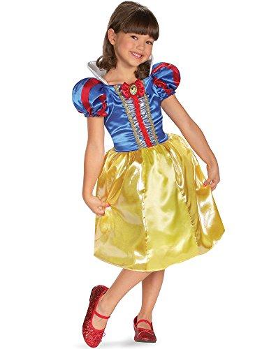 Morris Snow White Costumes (Snow White Sparkle Classic Costume - Small)