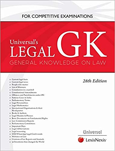 Legal GK-General Knowledge on Law for Competitive Examinations