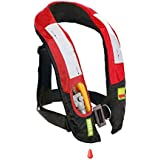 Eyson A/M-33 Inflatable Life Jacket Life Vest for Adult Automatic/Manual