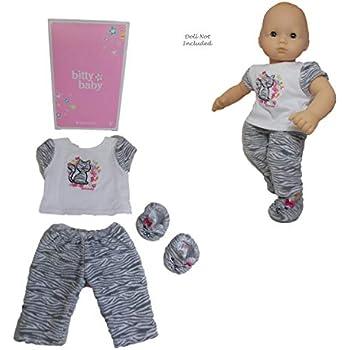 Amazon.com: American Girl Bitty Baby Bitty Kitty Pajamas