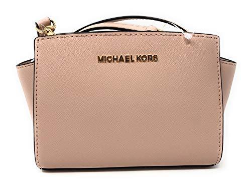 43f411911e11 ... MICHAEL Michael Kors Selma Mini Saffiano Leather Crossbody Bag (Ballet)