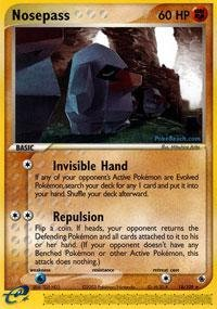Pokemon - Nosepass (18) - EX Ruby and Sapphire (And Sapphire Cards Pokemon Ruby)