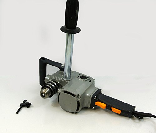 Gino Development 01-1055 TruePower HD Compact Industrial 2-Speed Right-Angle Drill, 5/8