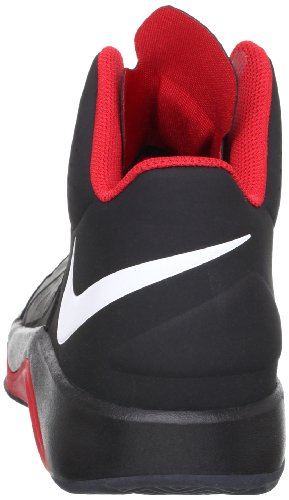Nike Womens Lunarcharge Br Enkelhoge Loopschoen Wit / Licht Arsenaal Blauw-wit