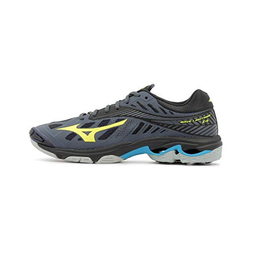 Sneakers Lightning Mizuno bleu Shoe Herren Wave jaune bleu marine qwqCtIS