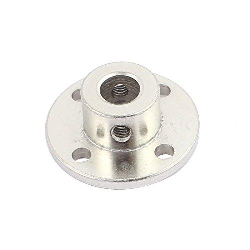 uxcell 8mm Rigid Flange Coupling Motor Guide Shaft Coupler Motor Connector for DIY Parts