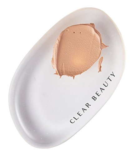 Clear Beauty Makeup Best Pro-Quality Silicone Makeup Sponge 100% Medical Grade High Transparency Silicone Sponge, Paraben Free, Made with Our Unique Silisoft Technology Plus TPU Protective Film