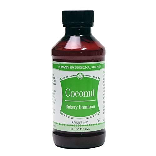 LorAnn Oils Emulsion, Coconut, 4 Ounce
