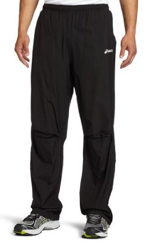 a033b0696f88 Amazon.com   Asics Men s Team Storm Shelter Pant (Black