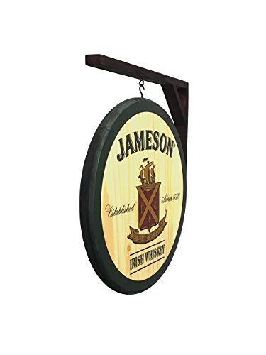 Irish Pub Sign - Jameson Whiskey - 2 Sided Pub Sign