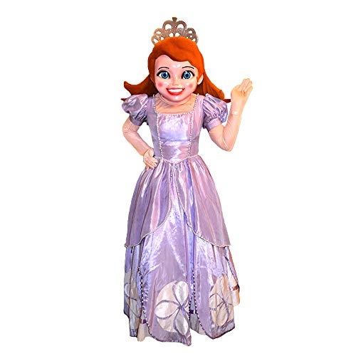 Princess Sofia The First Mascot Costume Character Cosplay Party Birthday Halloween (Sofia The First Character For Birthday Party)